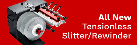 The new combination SR-100/200 Slitter/Rewinder