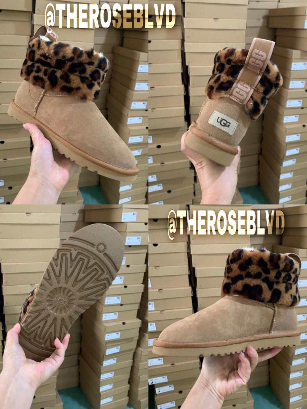 UGGS Cheetah Print - (BIG KIDS) (PREORDER)