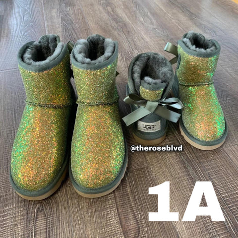 UGG Glitter (Small Kids) (PREORDER)
