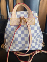 Load image into Gallery viewer, Checkered LV Bag
