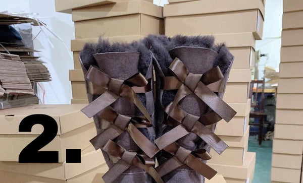 3 Bow Uggs - (ADULTS) (PREORDER)
