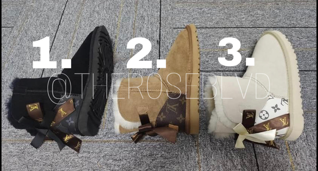 LV Uggs Vol.2 (ADULTS)(PREORDER)