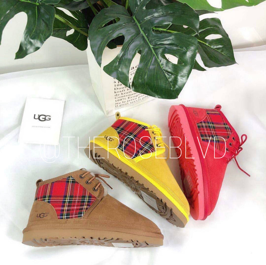 Plaid Uggs (ADULTS)(PREORDER)