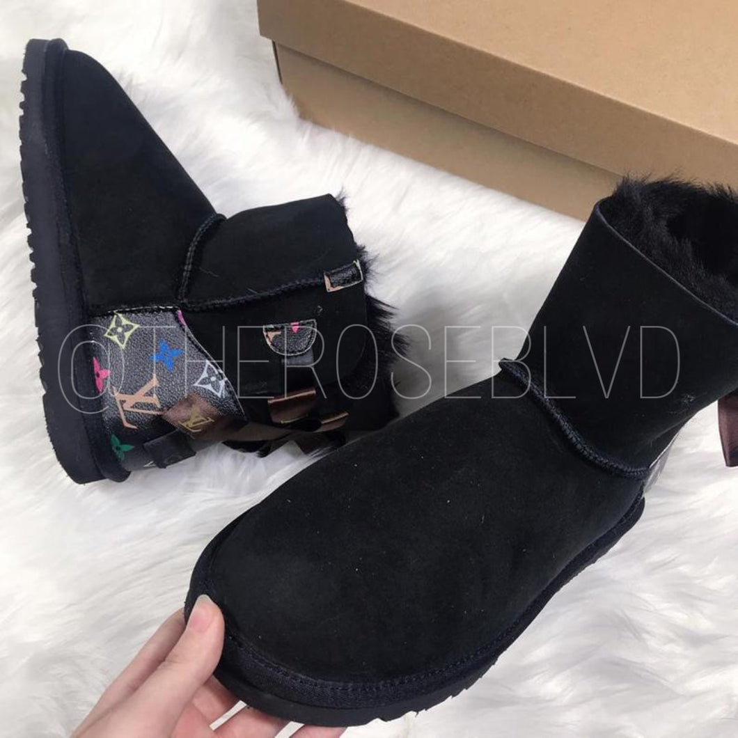 Black Louis Vuitton Uggs