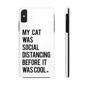 Social Distancing Phone Case