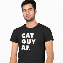 Load image into Gallery viewer, CAT GUY AF TEE | MENS