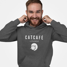 Load image into Gallery viewer, CATCAFE LOUNGE BRANDED HOODIE | MENS