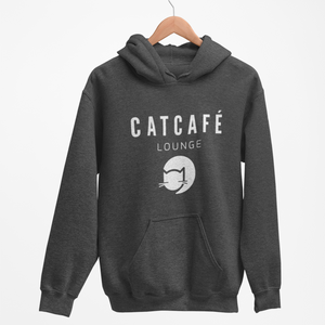 CATCAFE LOUNGE BRANDED HOODIE | WOMENS
