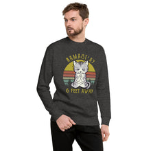 Load image into Gallery viewer, Namast'ay Away Unisex Fleece Pullover
