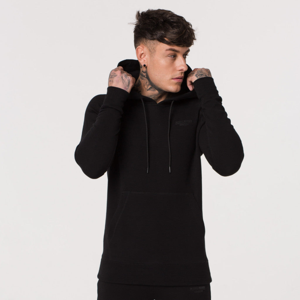 Black Shadow Pullover Hoody