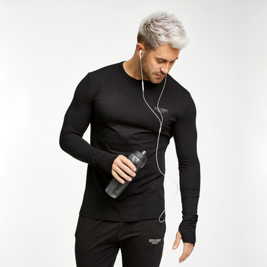 Black Base-Layer Tee
