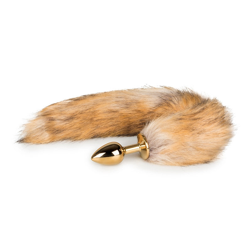 Fox Tail Plug Small No.1 Gold