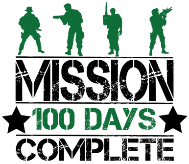 100 Days Mission Complete
