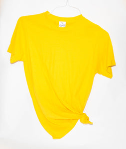 OMG SOFT T - YELLOW