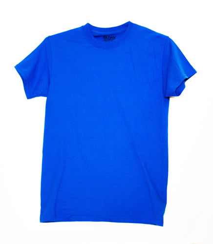 GILDAN ADULT T SHIRT - ROYAL