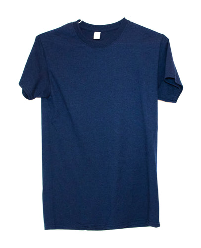 GILDAN ADULT T SHIRT - NAVY
