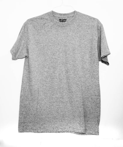 GILDAN ADULT T SHIRT - GREY