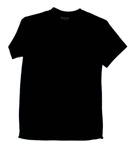 GILDAN ADULT T SHIRT - BLACK