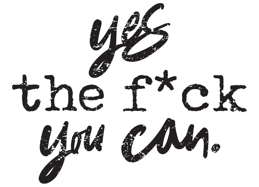 Yes, the f*ck you can.