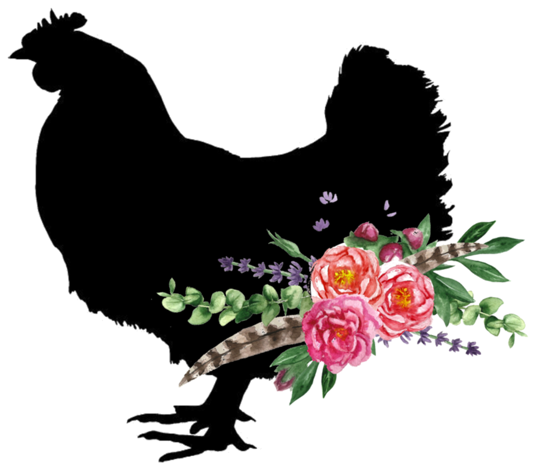 Rooster Floral