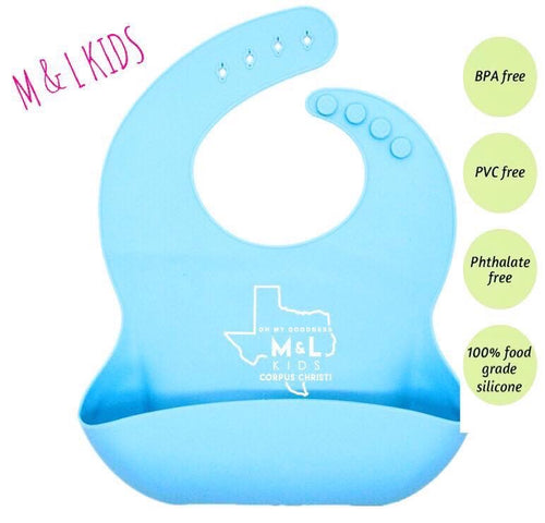 OMG Silicone Catch All Bib +FREE Matching Spoon
