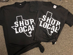 OMG T of the Week -Shop Local Texas