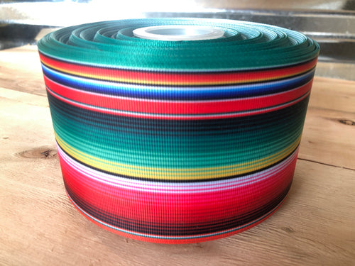 "3"" Serape Ribbon"