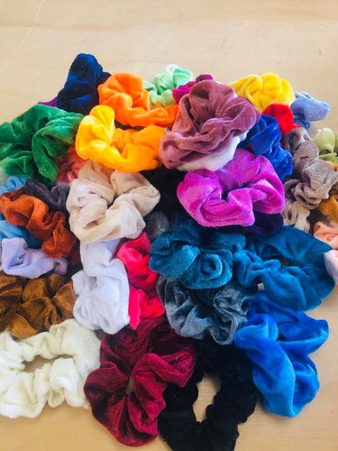Velvet Scrunchies Grab Bag (6 piece)