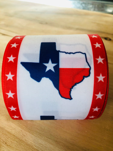 "3"" Texas Ribbon"