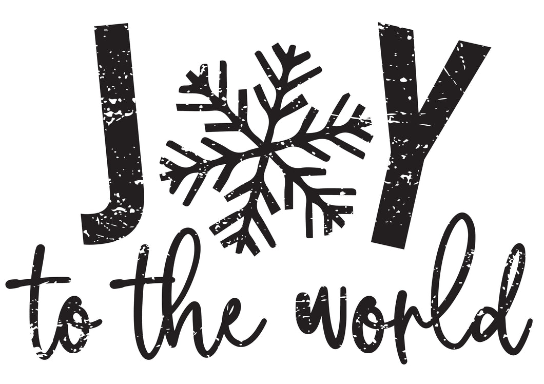 Joy to the World - METALLIC BLUE
