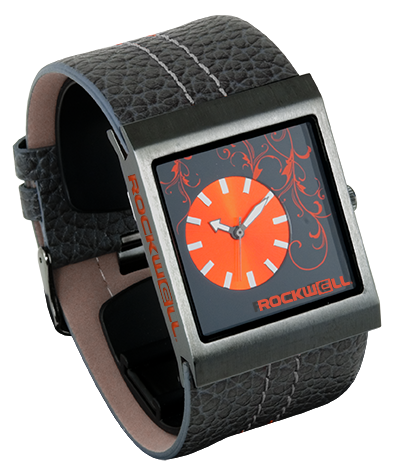 Gunmetal/Orange