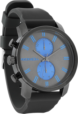 Apollo - Gunmetal/Blue