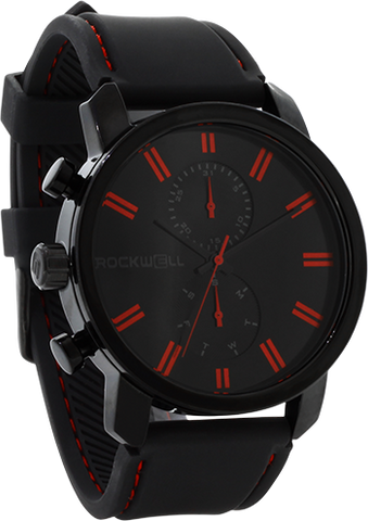Apollo - Black/Red - Silicone