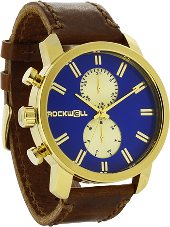 Apollo - Gold/Royal Blue