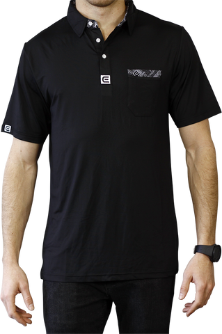 Rockwell Poly-Blend Polo - Black