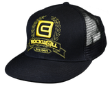 Snapback Trucker Hat Black/Gold