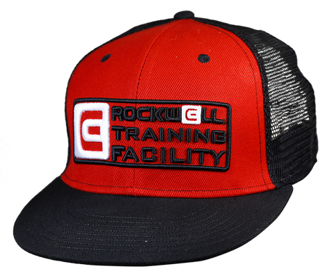 RTF Snapback Trucker Hat Red/Black
