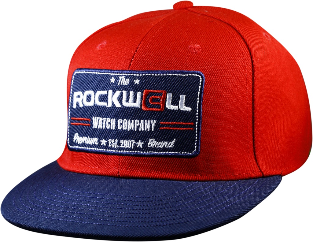 Snapback Hat Watch Co Red/Navy