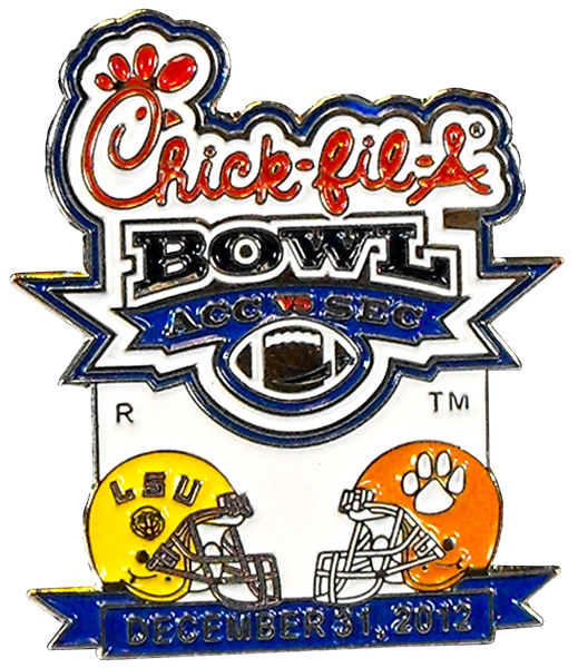 2012 Chik-fil-A Bowl Pin