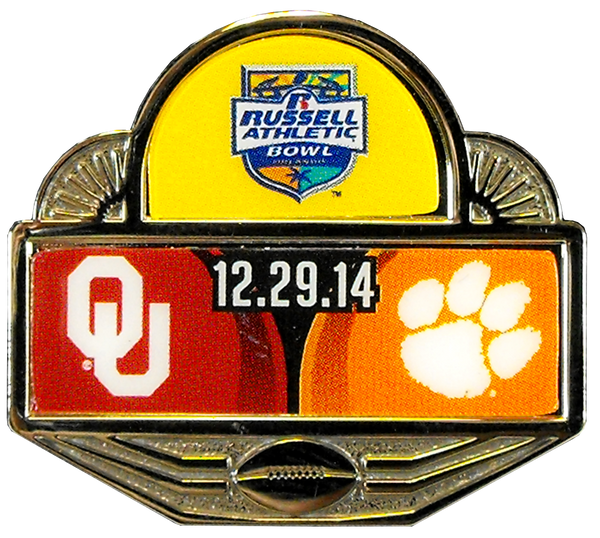 2014 Russell Athletic Bowl Pin