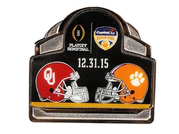 2015 Capital One Orange Bowl Pin