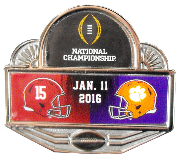 2015 National Championship Pin