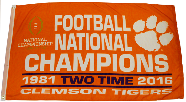 Two-Time National Champions Flag