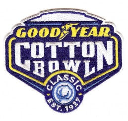 Clemson 2018 Cotton Bowl Patch
