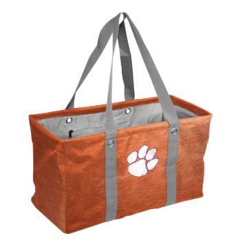 Clemson Picnic Caddy - Heathered Orange