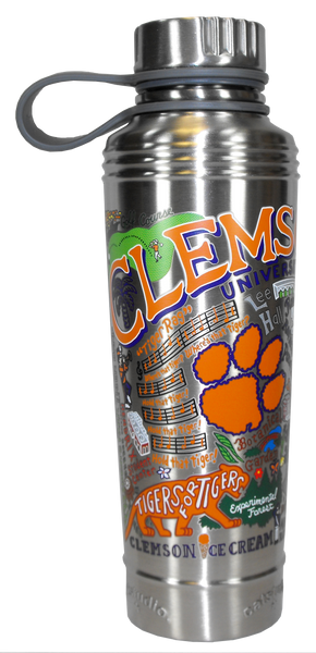 Landmarks of Clemson Insulated Water Bottle