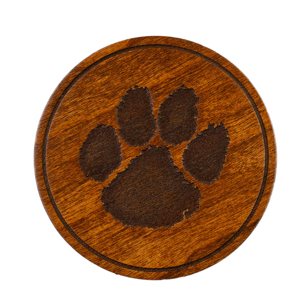 Clemson Wooden Coaster Set