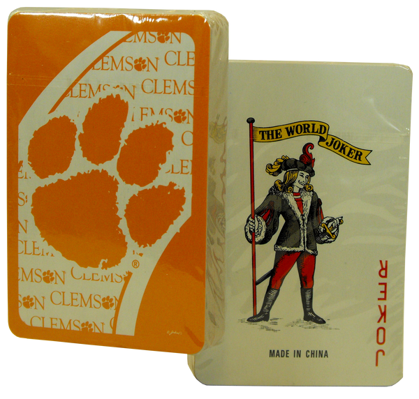 Clemson University Playing Cards