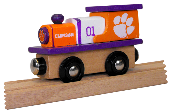 Clemson University Wooden Train Engine