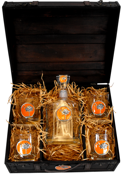 South Carolina Boxed Decanter Set